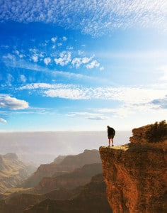 Hiking tours into the Grand Canyon